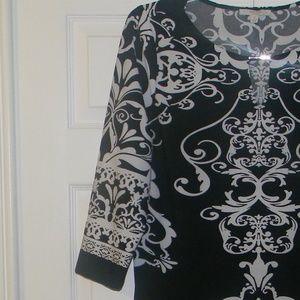 Haani Dresses - Haani Black/White Dress  Size 2X